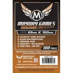 65 X 100 mm Fundas Mayday para cartas 100 unidades