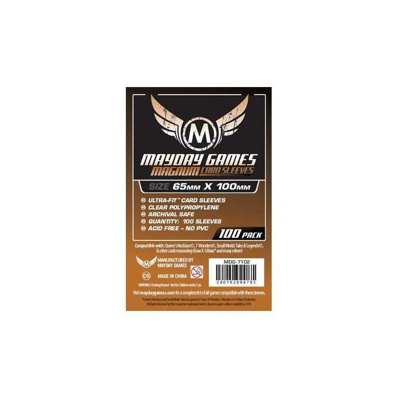 Fundas para 7 Wonders Magnum Ultra-Fit Copper 65 MM X 100 MM