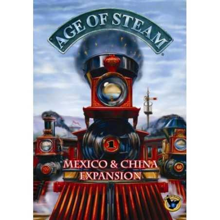 Age of Steam Expansion Mexico & China