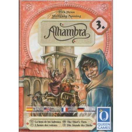 Alhambra expansion 3 The Thief's Turn