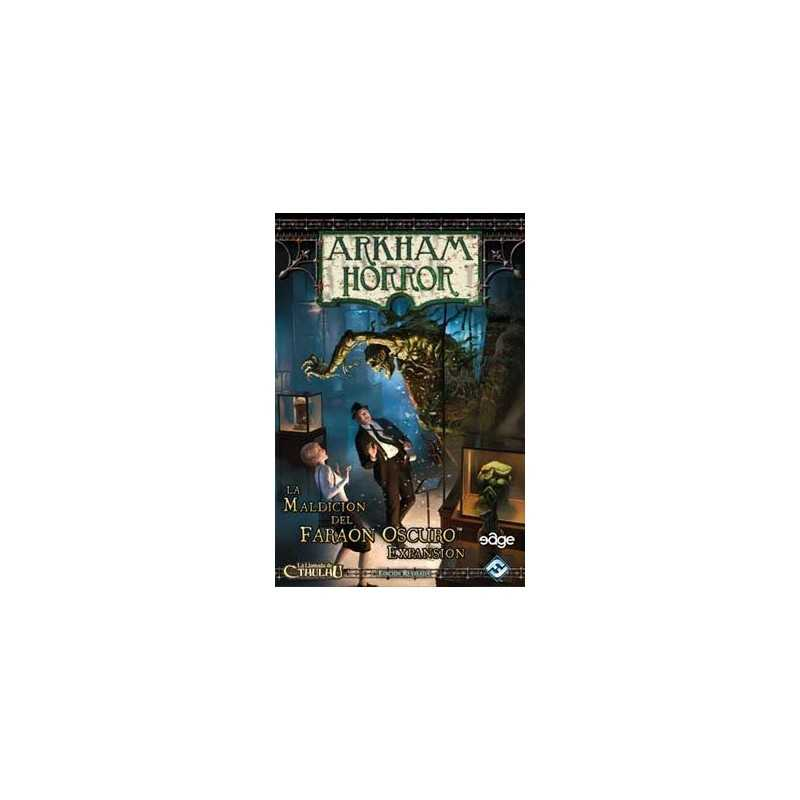 Arkham Horror La Maldicion del Faraon Oscuro Edicion Revisada