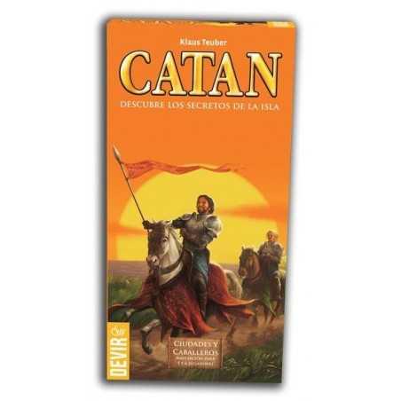 Ciudades y caballeros de Catan expansion 5-6 jugadores