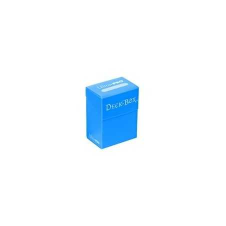 Solid Deck Box Azul Cielo (caja para cartas enfundadas)