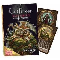 Cutthroat Caverns Adventures B1 Savage Arena B2 Errand of Evil
