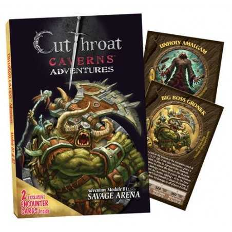 Cutthroat Caverns Adventures B1 Savage Arena B2 Errand of Evil