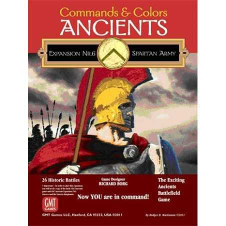 Commands & Colors Ancients Expansion Pack 6 The Spartan Army