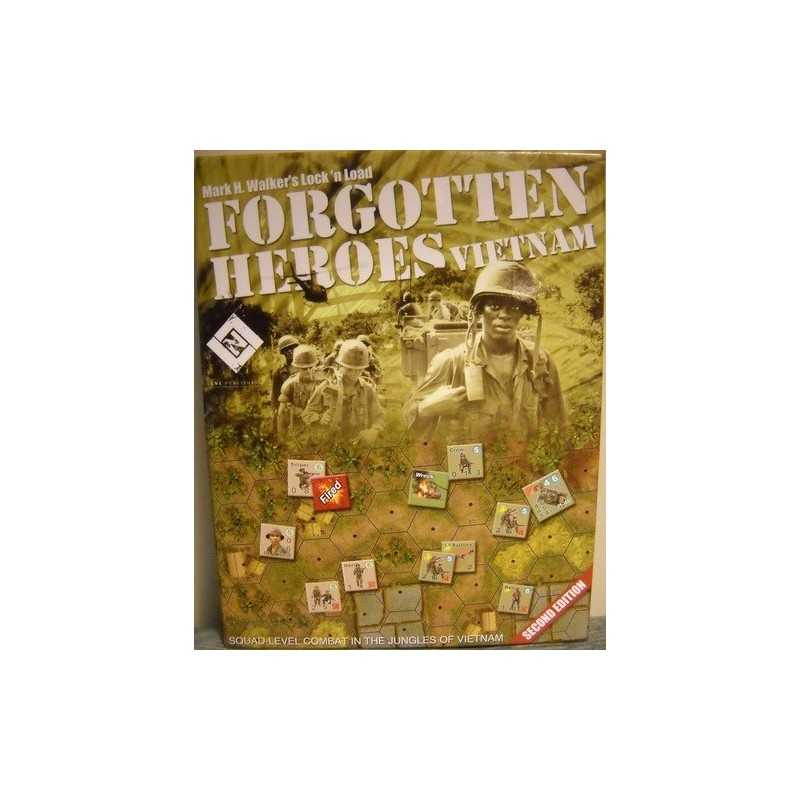 Lock 'N Load Forgotten Heroes Vietnam 2nd edition