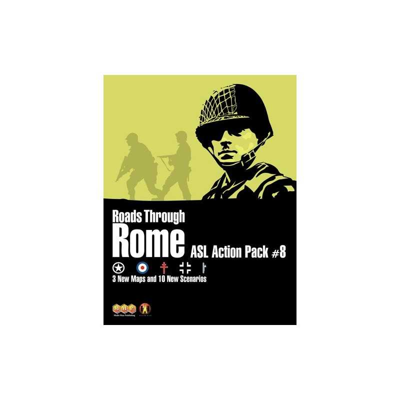 ASL Action Pack 8 Roads to Rome
