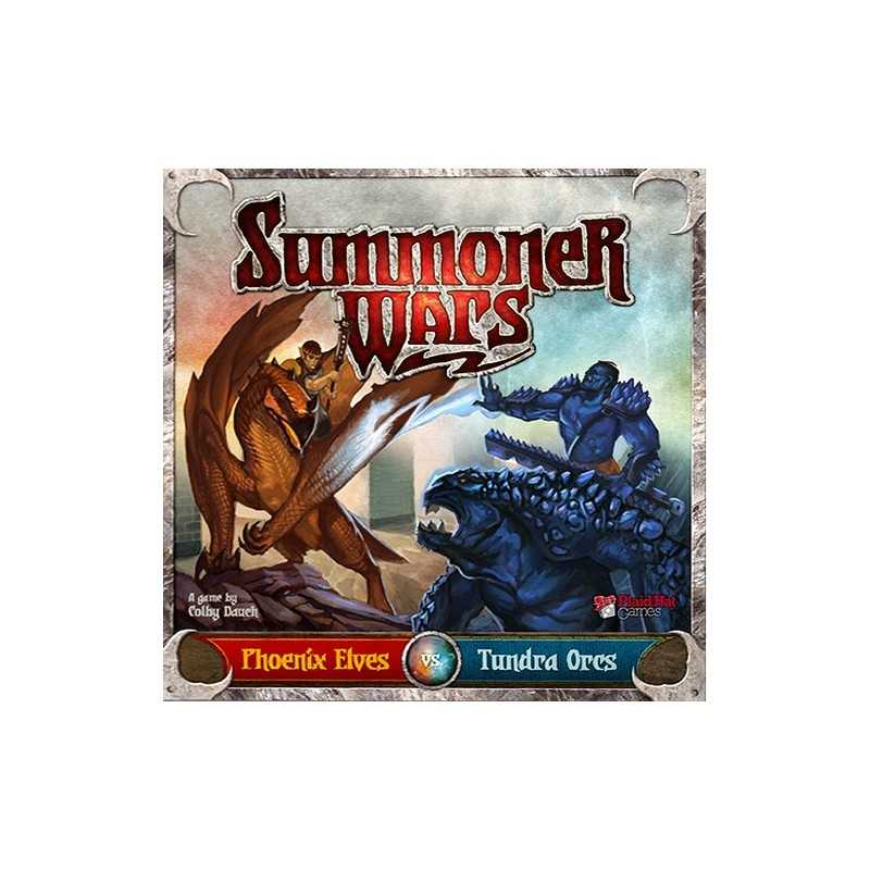 Summoner Wars Elves vs Tundra Orcs 2nd edition