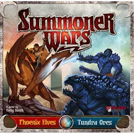 Summoner Wars Elves vs Tundra Orcs 2nd edition