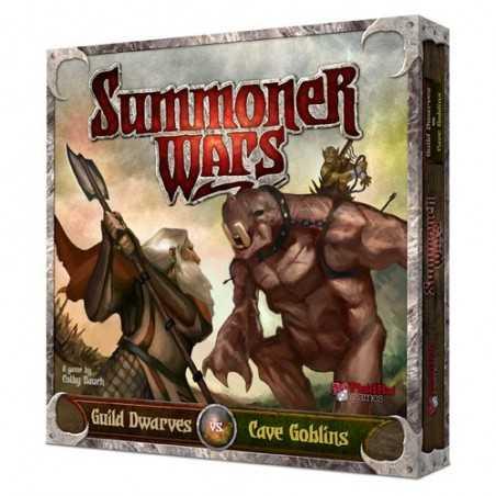 Summoner Wars Dwarves vs Cave Goblins 2nd edition