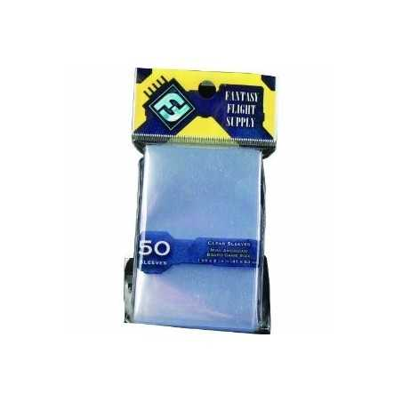 41 x 63 mm FFG Mini American Sleeves 50 units (yellow)