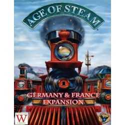 Age of Steam Expansion Francia y Alemania