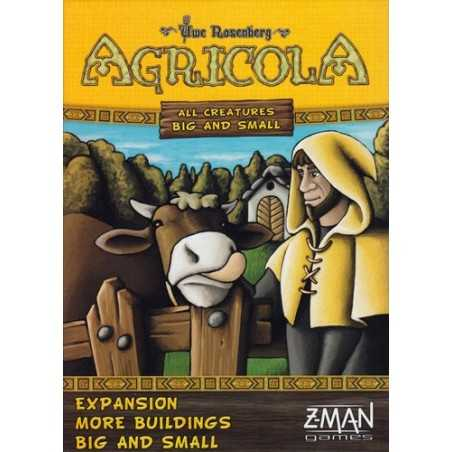 Agricola 2 players More Buildings Big and Small