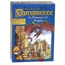 Carcassonne La princesa y el Dragon
