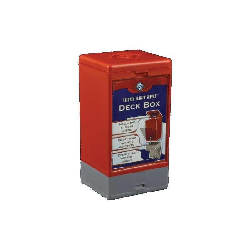 Caja para mazos FFG Roja
