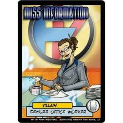 Miss Information Villain Character: Sentinels of the Multiverse