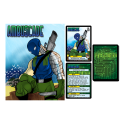 Ambuscade Villain Character: Sentinels of the Multiverse