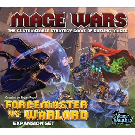 Mage Wars: Forcemaster vs Warlord