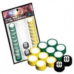Mage Wars 4 Player Action Marker Set