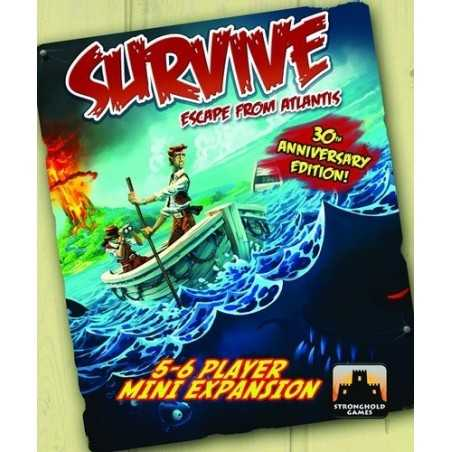 The Island Survive 5-6 Player Mini Expansion