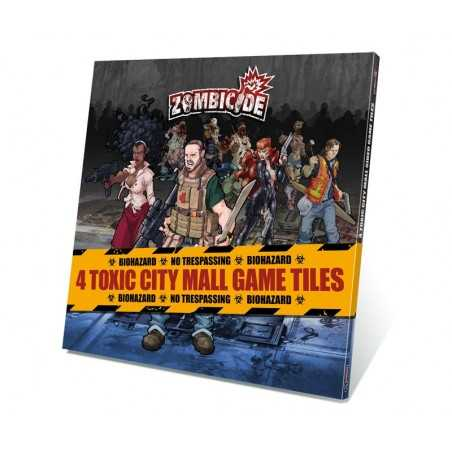 Zombicide Toxic City Mall Game Tiles