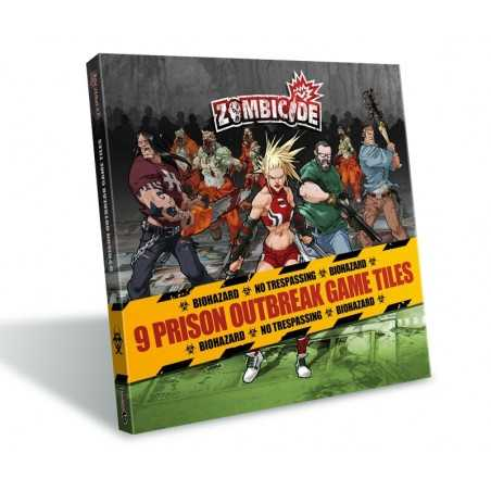 Zombicide Prison Outbreak Game Tiles