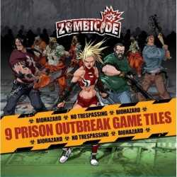 Zombicide Prison Outbreak Game Tiles