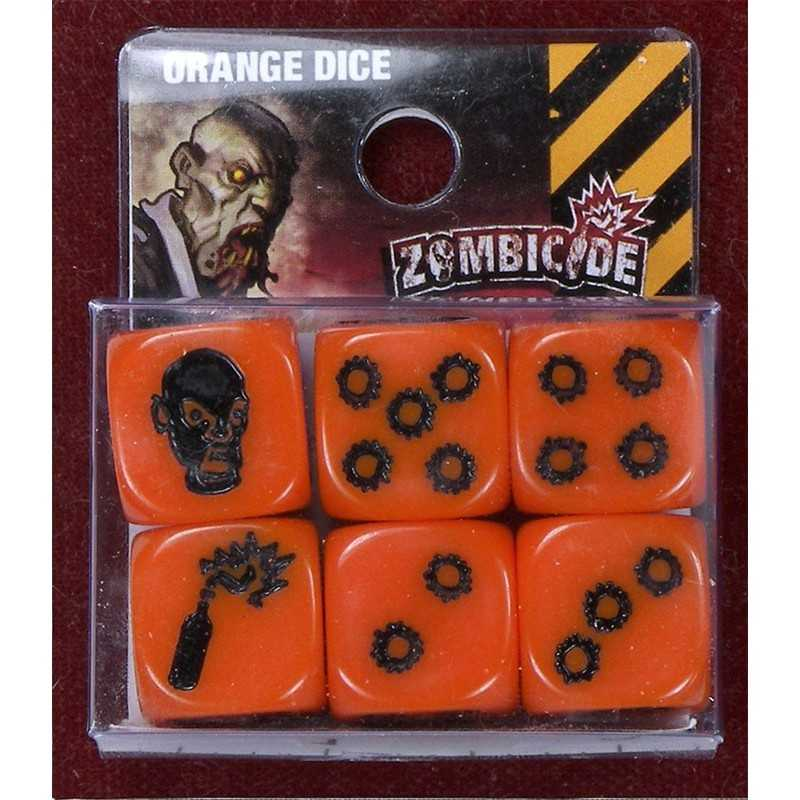 Zombicide orange dice