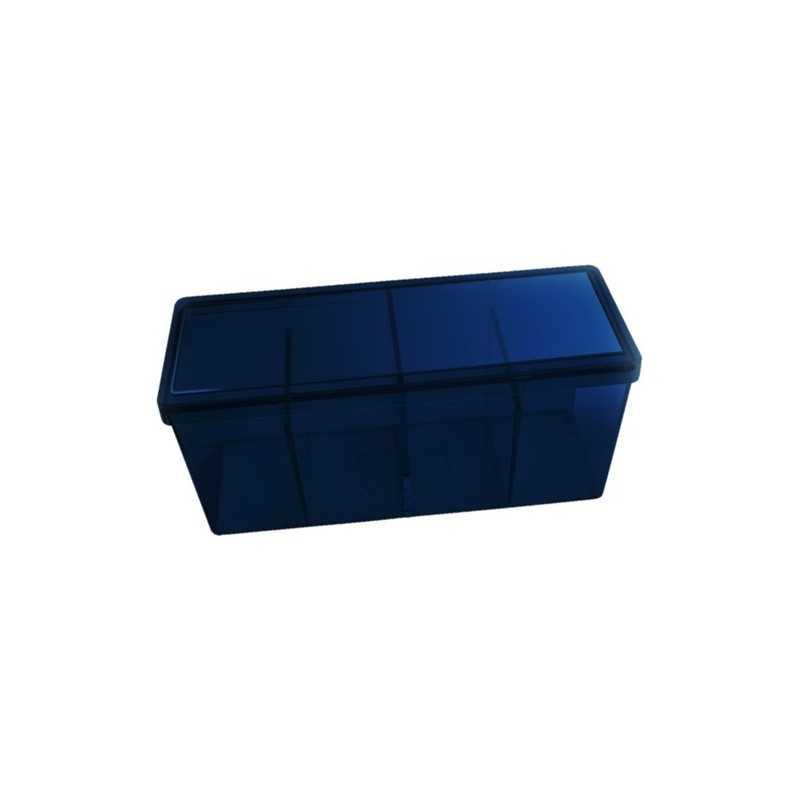 Storage Box 4 compartimentos Azul