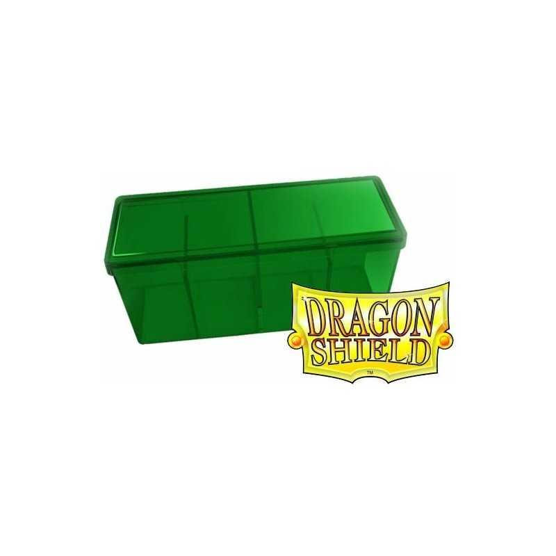 Storage Box 4 compartimentos Verde
