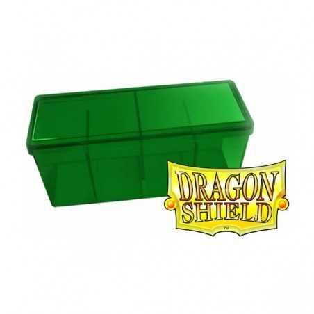 Storage Box 4 compartments Green