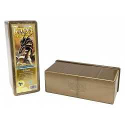 Storage Box 4 compartimentos Oro