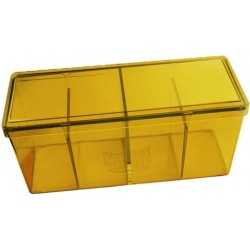 Storage Box 4 compartments Yellow