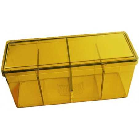 Storage Box 4 compartimentos Amarillo