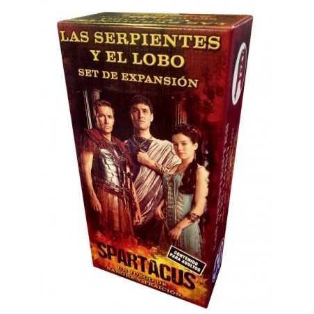 Spartacus Las Serpientes y el lobo