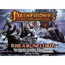 Pathfinder The Skinsaw Murders Adventure Deck