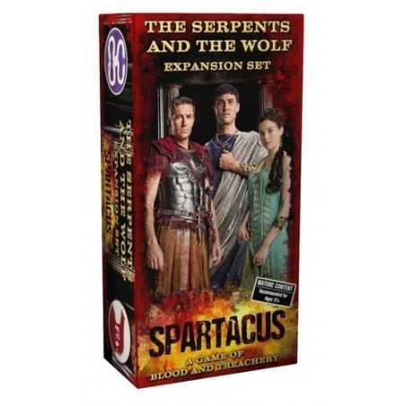 Spartacus: The Serpent and the Wolf Expansion