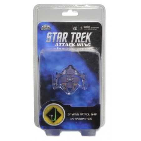 5th Wing Patrol Ship Star Trek Attack Wing