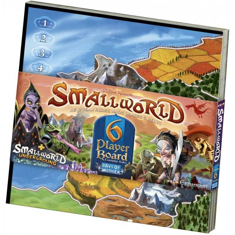 Small World (SmallWorld) 6 Player Board
