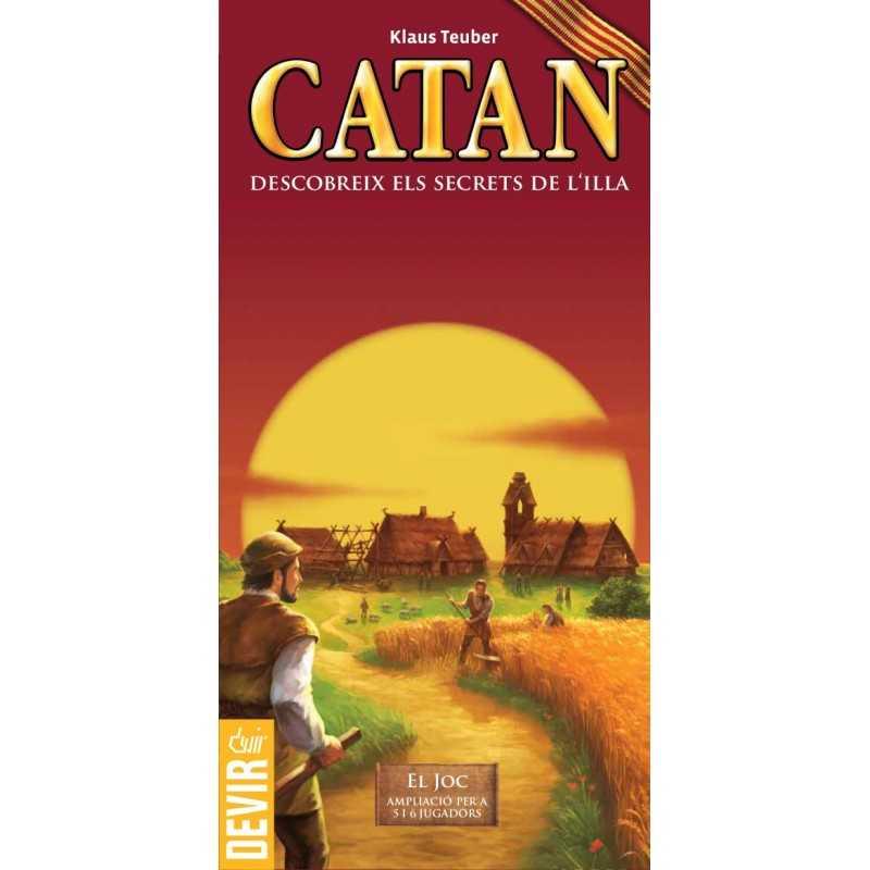 Catan ampliacio 5-6 jugadors (Catalan)