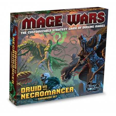 Druid vs Necromancer: Mage Wars