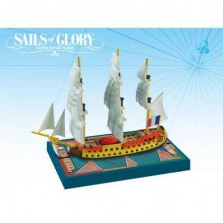 Berwick 1795 - Le Swftsure 1801 Sails of Glory
