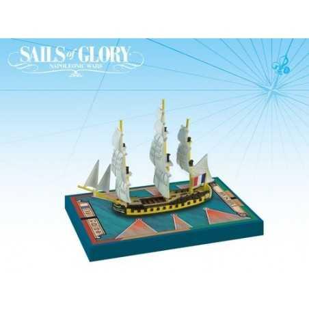 Embuscade 1798 - Le Succes 1801 Sails of Glory