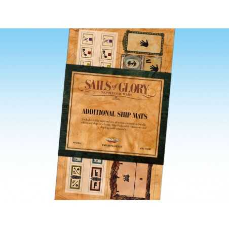 Sails of Glory additional ship mats