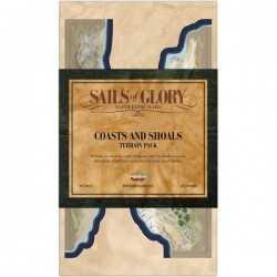 Sails of Glory Coast and shoals terrain pack