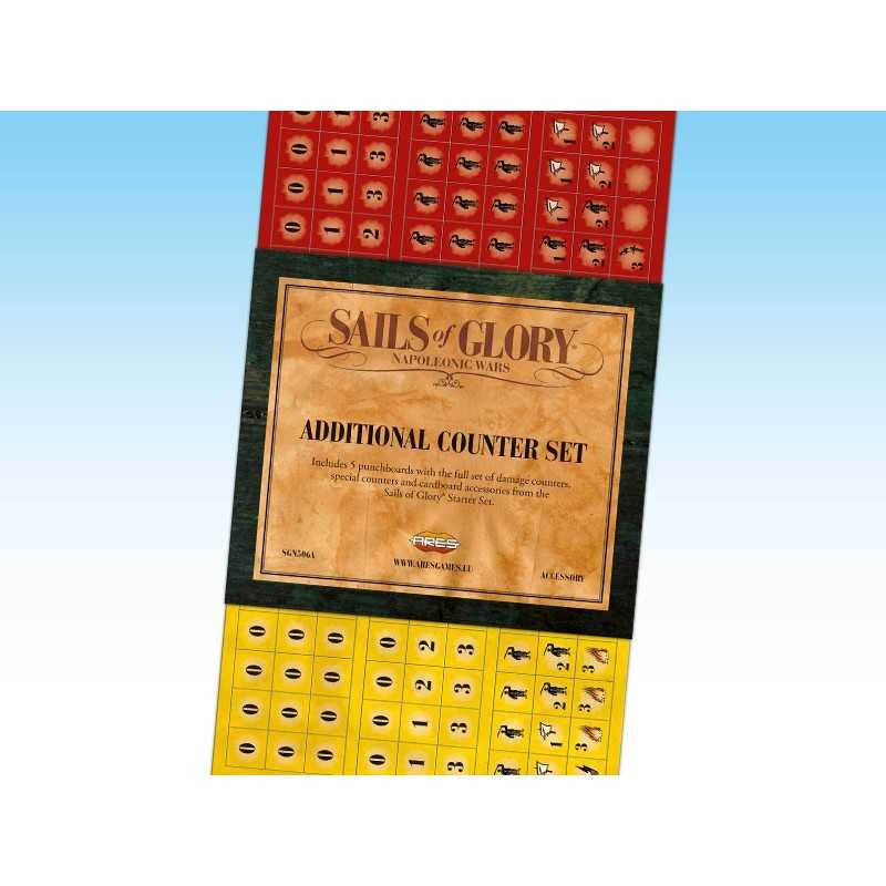 Sails of Glory additional counter set