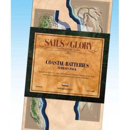 Sails of Glory Coastal Batteries terrain pack