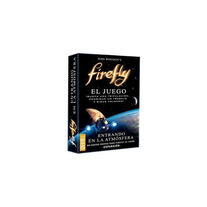 Firefly entrando en la atmósfera